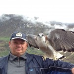 Я и орел в Перу для шаманских практик